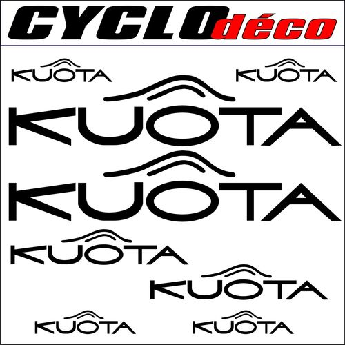 STICKERS KUOTA pour cadre
