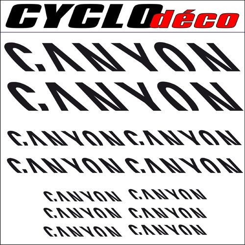 STICKERS CANYON pour cadre