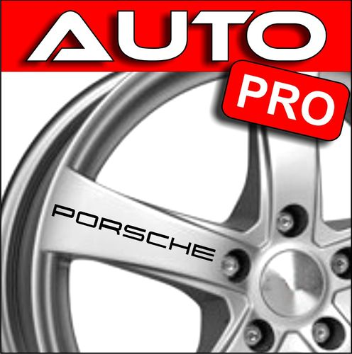 STICKERS PORSCHE 92 mm x 5 mm