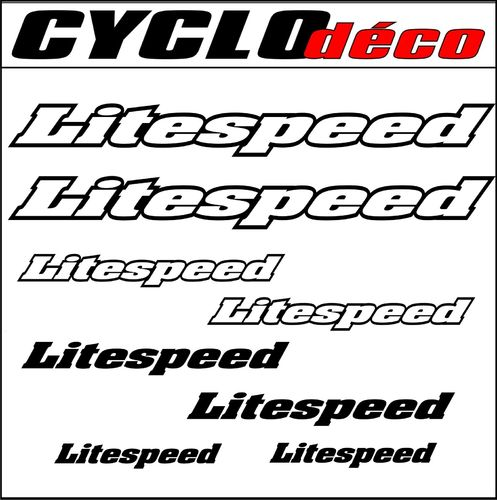 STICKERS LITESPEED pour cadre
