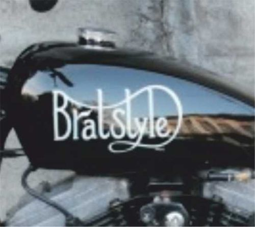 2 stickers BRATSTYLE 300mm x 155mm