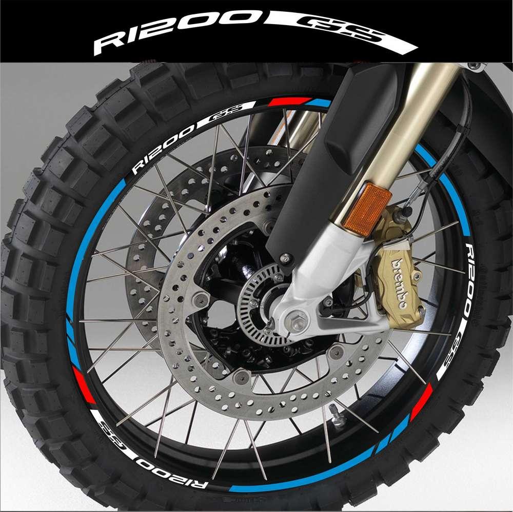 Rim stripes sticker scooter any brand tires